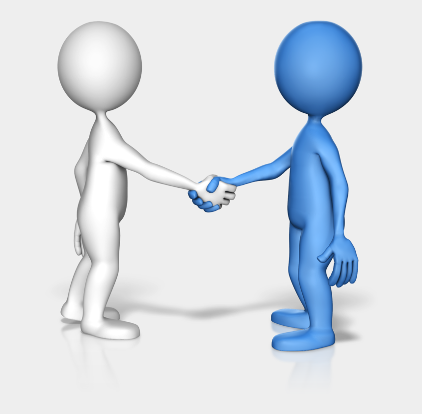 business clipart for powerpoint, Cartoons - People Like To Do Business With People They Know, Like, - Gif Of People Shaking Hands