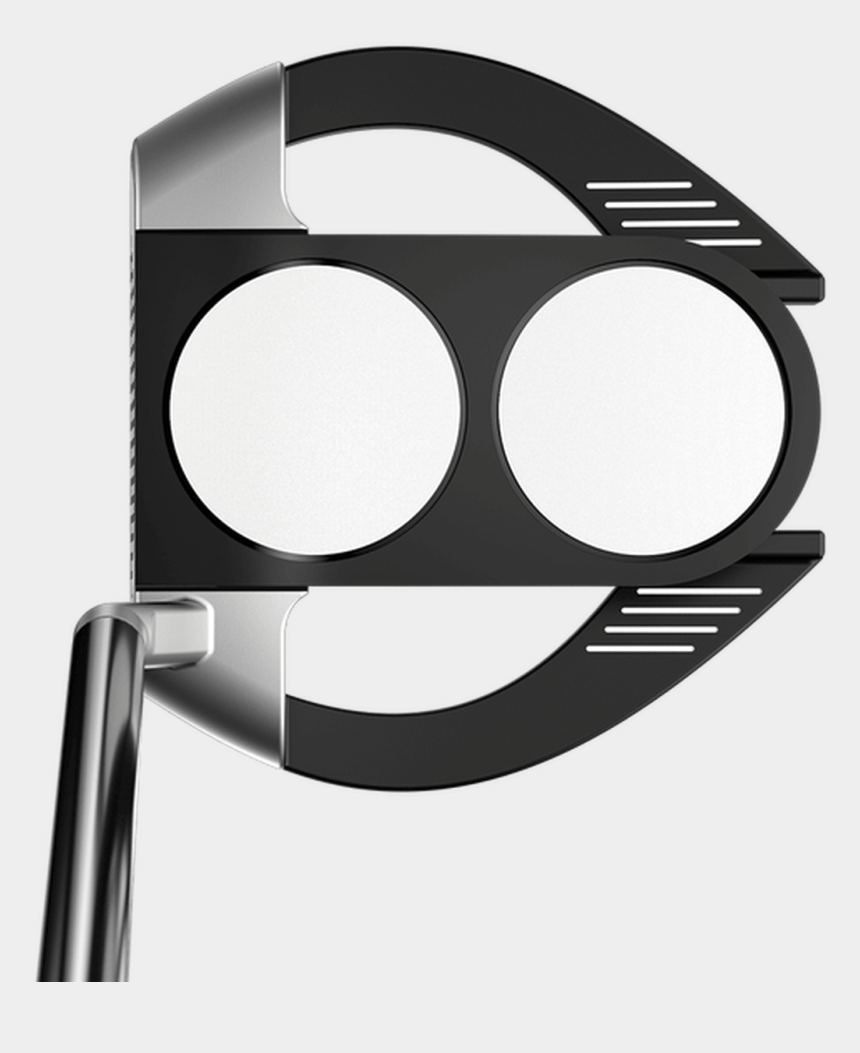 golf club and ball clipart, Cartoons - Odyssey Stroke Lab 2-ball Fang S Putter - Odyssey Stroke Lab 2 Ball Fang