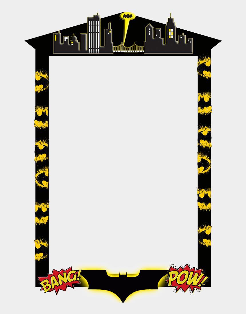 graduation frame clipart, Cartoons - Batman Frame Png - Picture Frame