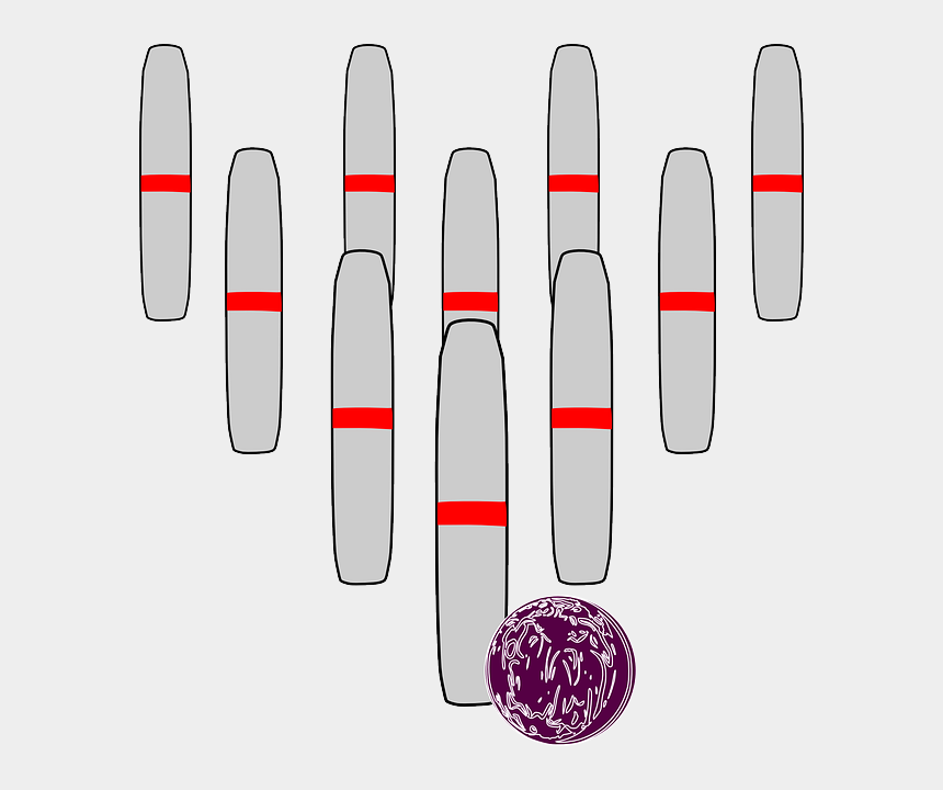 bowling strike clipart, Cartoons - Clipart Bowling Pins Coloring Pages