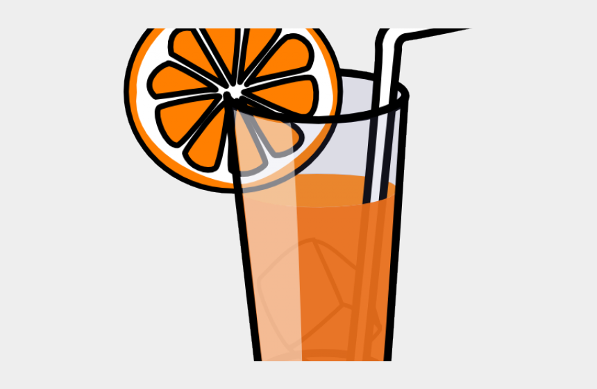 beach sunset clipart, Cartoons - Drinking Clipart Orange - Cold Drink Clipart