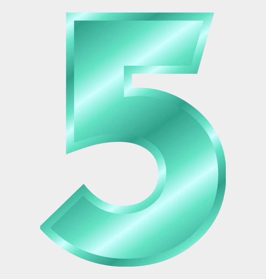 number five clipart, Cartoons - Gold Alphabet Letters Clip Art Bay Ⓒ - Number 5 Transparent Background