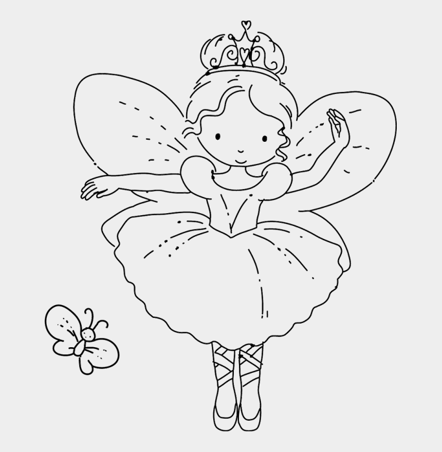 graphic regarding Free Printable Fairy Wings titled Free of charge Printable Fairy Coloring Web pages - Cartoon Fairy Coloring