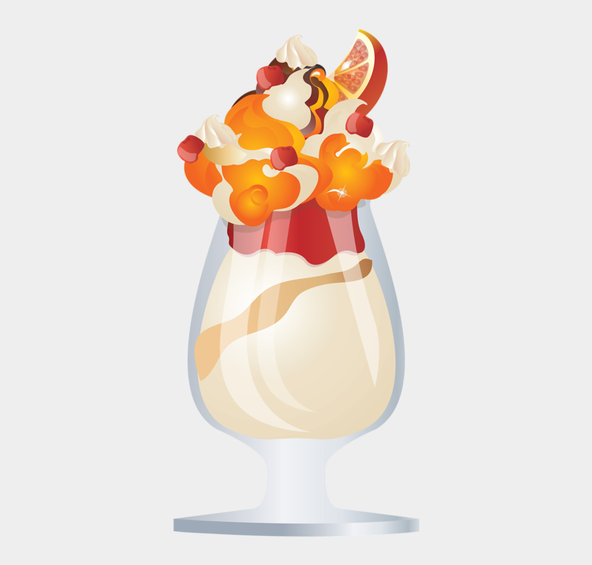 Glaces Glaces Boissons Clipart Creme Glacee Verre Ice Cream Cliparts Cartoons Jing Fm
