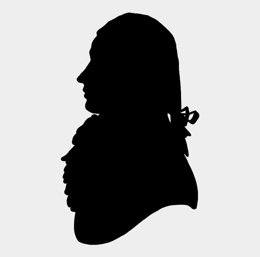 side face clipart, Cartoons - Silhouette Of Man With Hair, Victorian Silhouette Man - Victorian Silhouette Man Head
