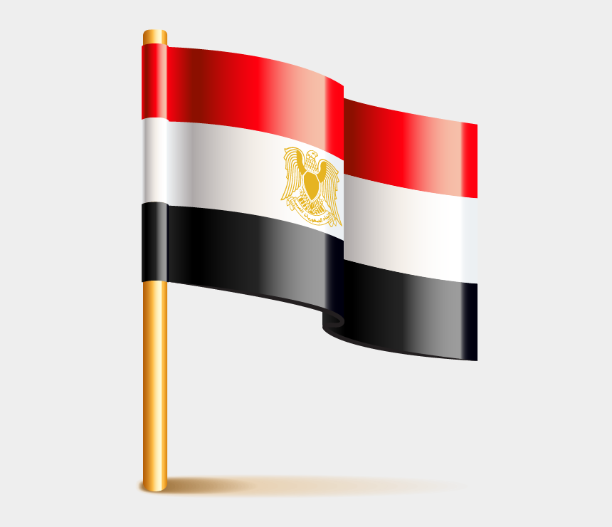 Flag Of Egypt مصر Png علم مصر Cliparts Cartoons Jing Fm