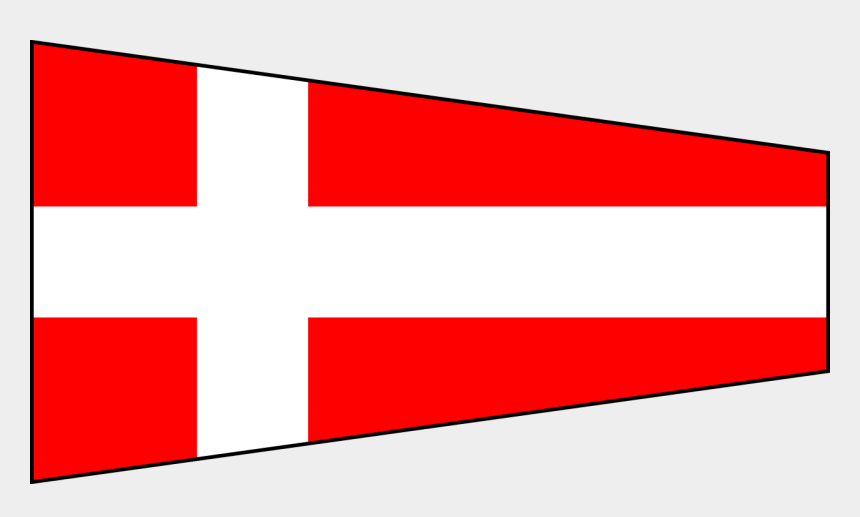 pennant flag clipart, Cartoons - Svg Flags Pennant - Nautical Flags Number 4