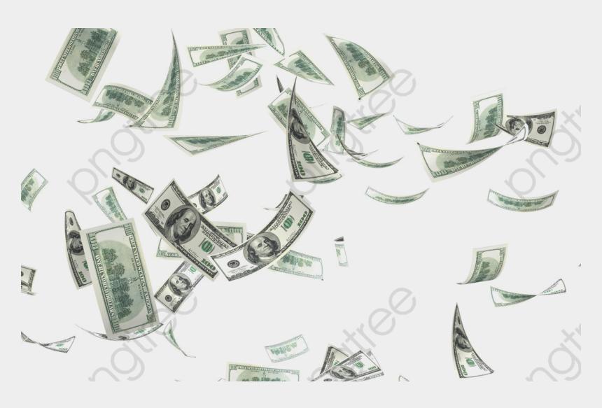 flying money clipart, Cartoons - Flying Money Png Transparent Background - Make It Rain Transparent