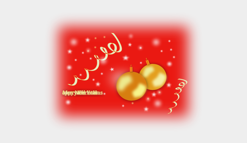 clipart merry christmas and happy new year, Cartoons - Merry Christmas And Happy New Year - Christmas Day