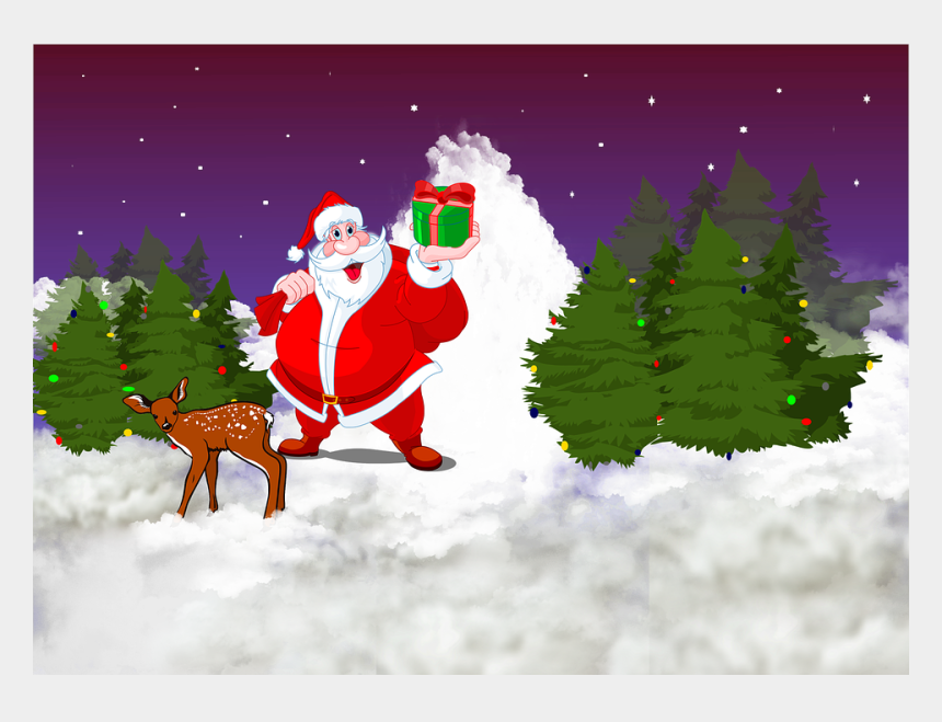 merry christmas & happy new year clipart, Cartoons - Christmas Merry Christmas Dad Santa Claus - Merry Christmas Wishes For Children