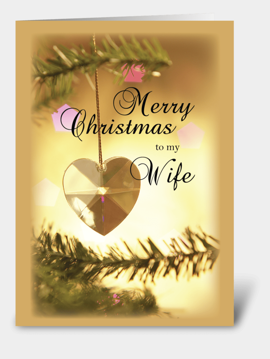 merry christmas & happy new year clipart, Cartoons - Merry Christmas To My Wife - Free Christmas Love Cards