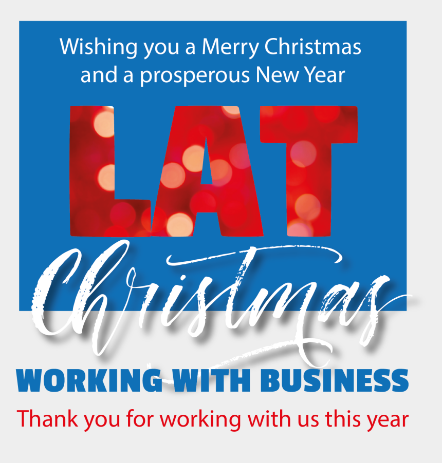 merry christmas & happy new year clipart, Cartoons - Wishing All Our Business Contacts All The Compliments