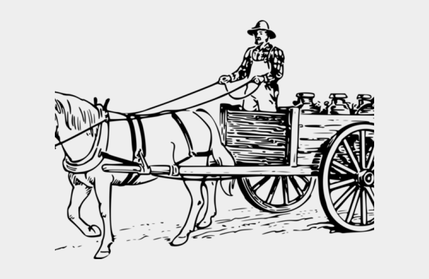 horse and carriage clipart, Cartoons - Carriage Clipart Horse Wagon - Horse And Carriage Coloring Pages