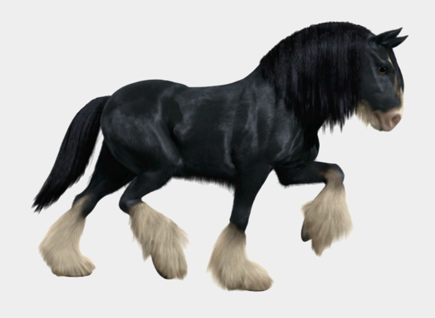 black horse clipart, Cartoons - Transparent Black Horse - Horse From Brave