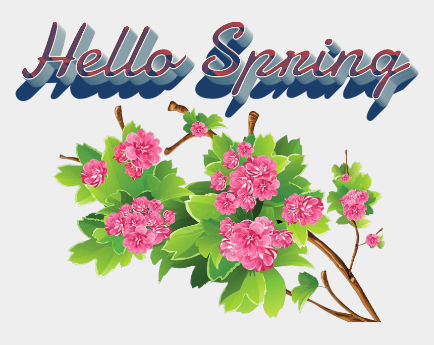 hello spring clipart, Cartoons - Bouquet