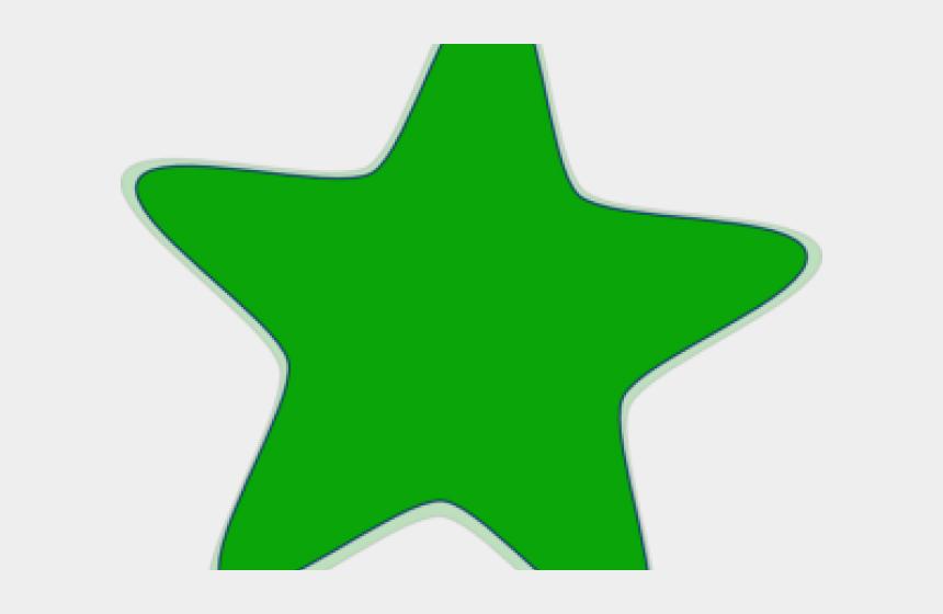 row of stars clipart, Cartoons - Star Clipart Green - Star Clip Art