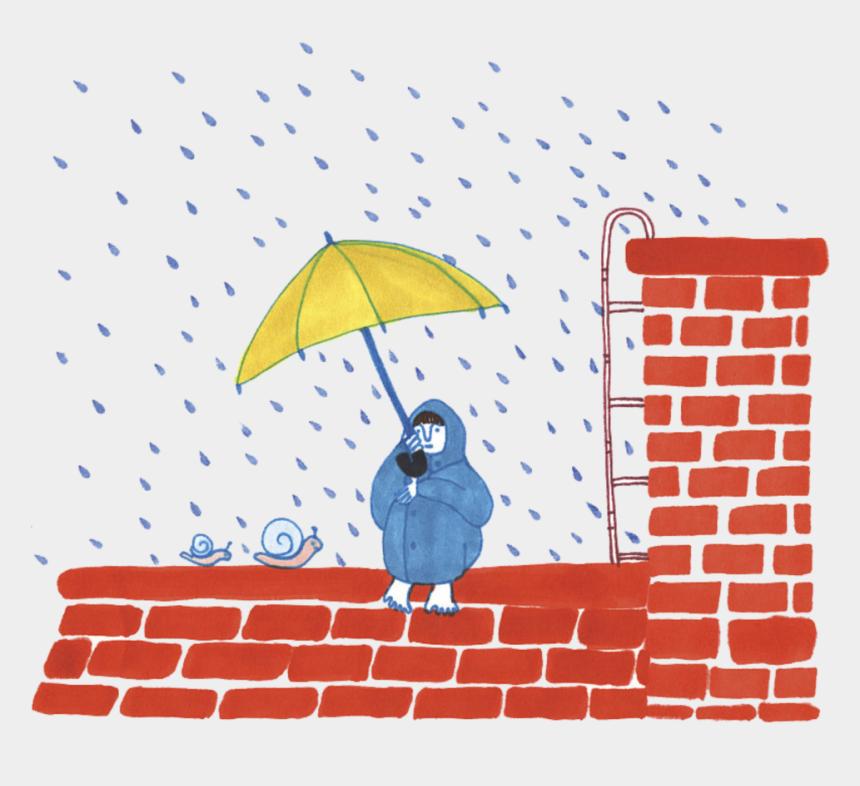 rain umbrella clipart, Cartoons - رسم قرميد