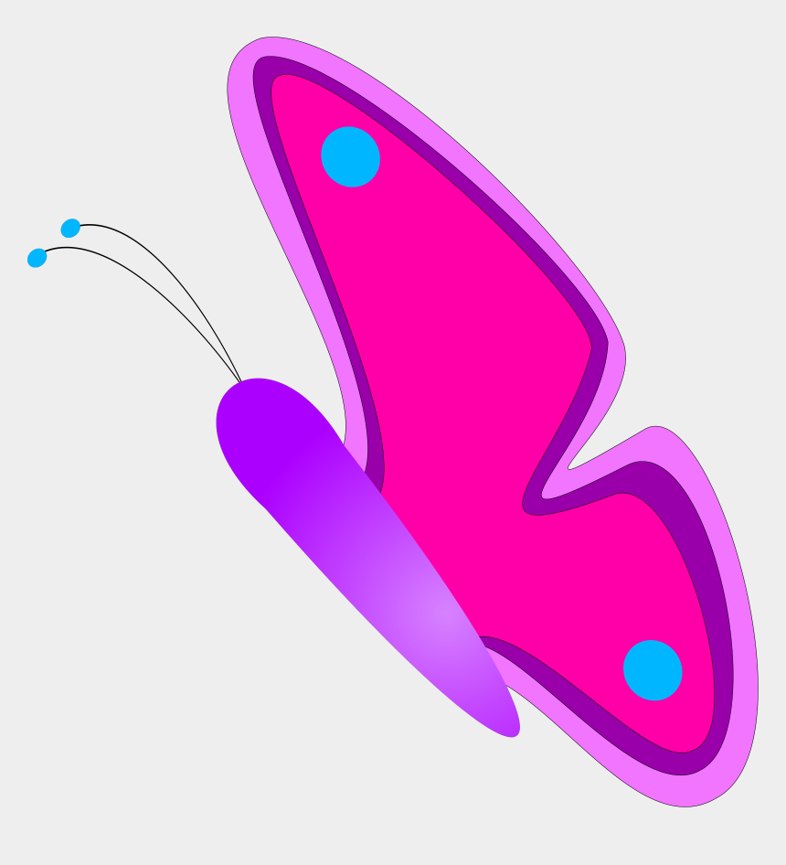 gold butterfly clipart, Cartoons - Butterfly Svg Clip Arts 600 X 563 Px - Pink And Purple Butterfly Clipart