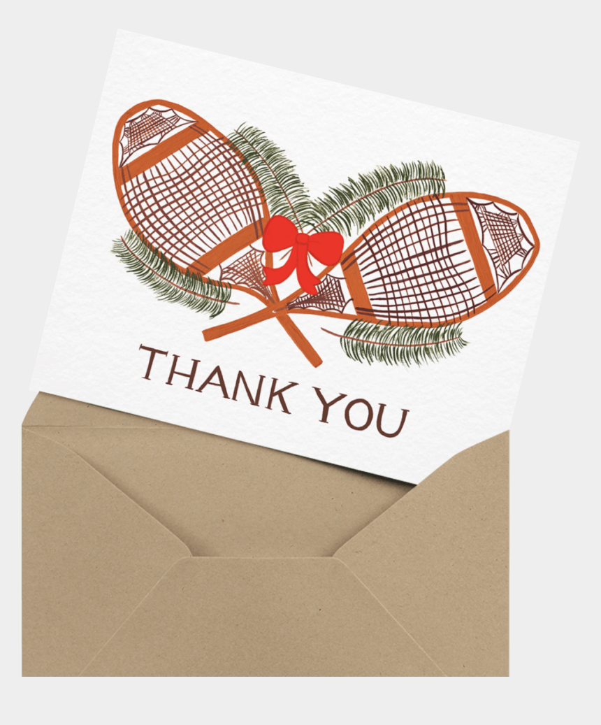 holiday thank you clipart, Cartoons - Christmas Lights Holiday Thank You Card - Thank You Badminton Style