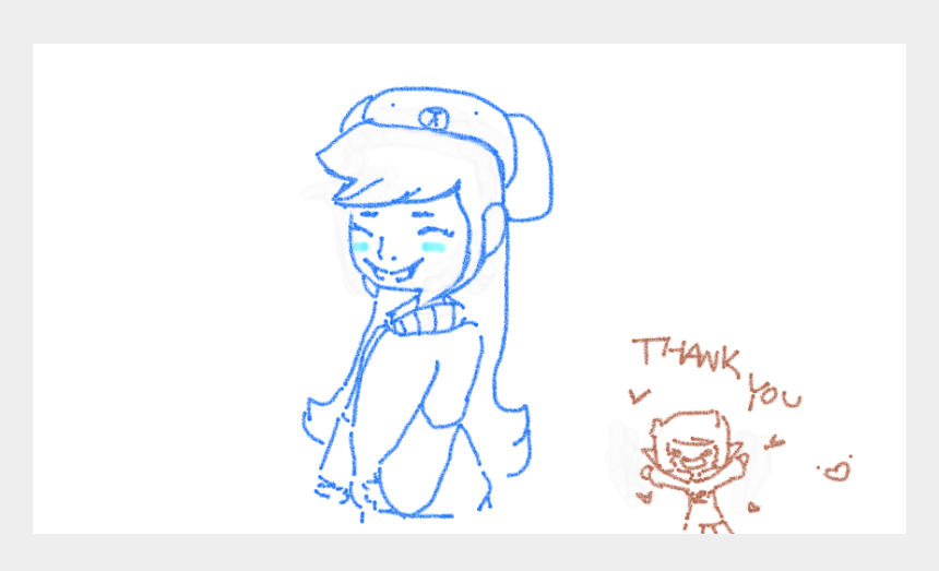 thank you so much clipart, Cartoons - Thank You For Drawing Shy @vemiles X3 I Love It So - Cartoon