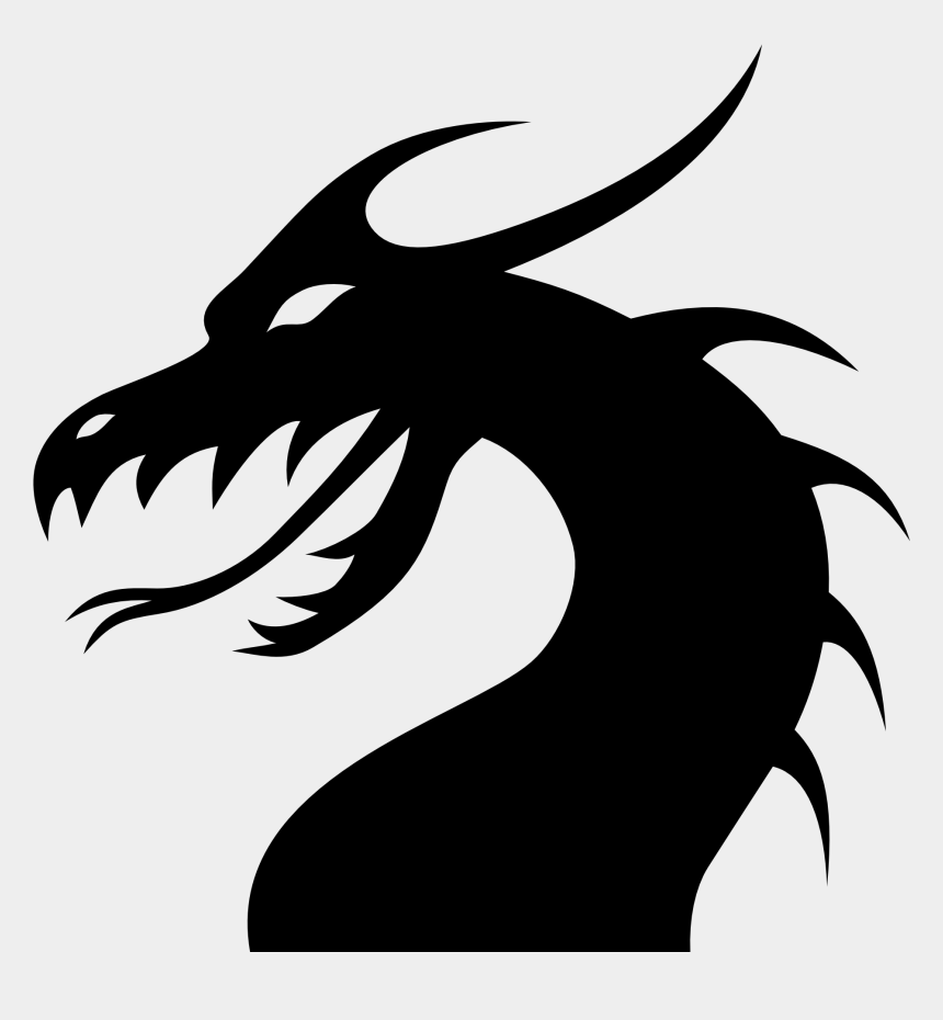 dragon face clipart, Cartoons - Download Png Image Report - Dragon Tattoo Png