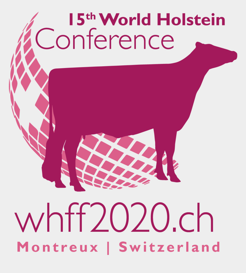 holstein cow clipart, Cartoons - 2019, The Conference Logo Has Been Launched Today - Cattle