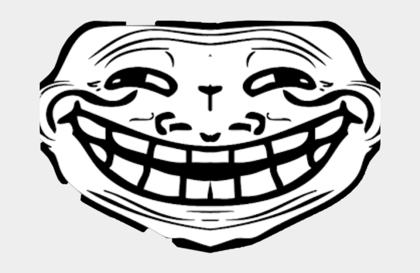 troll face clipart, Cartoons - Troll Face Front View