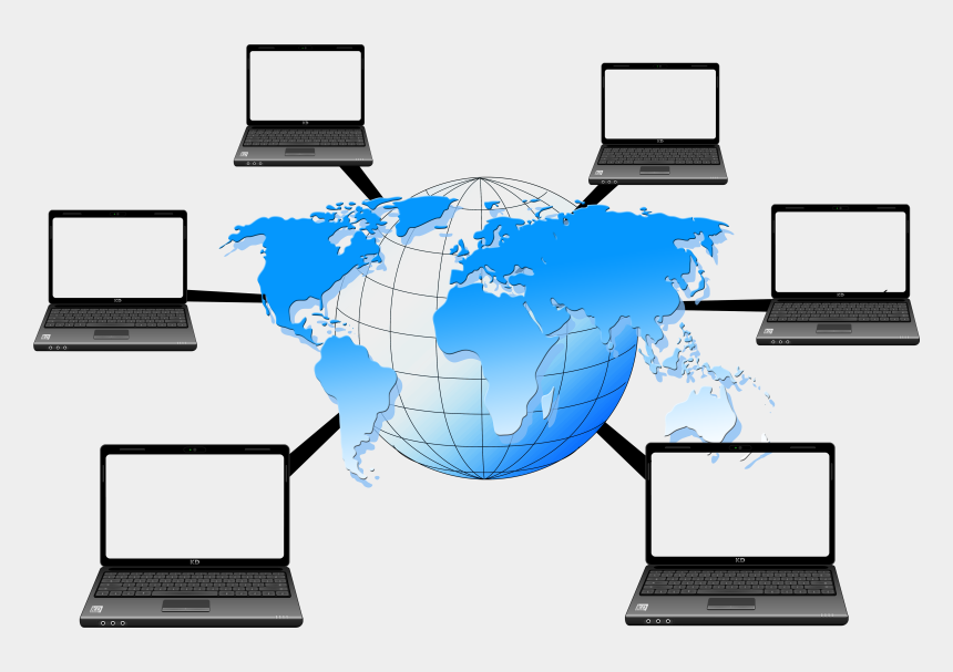 computer network clipart, Cartoons - Computer Network Png - Transparent Background Network Png