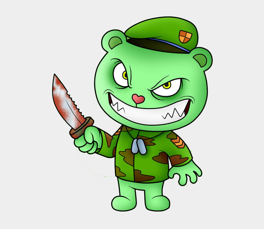 happy friends clipart, Cartoons - Happy Tree Friends By Boxbird Clipart , Png Download - Happy Tree Friends Png