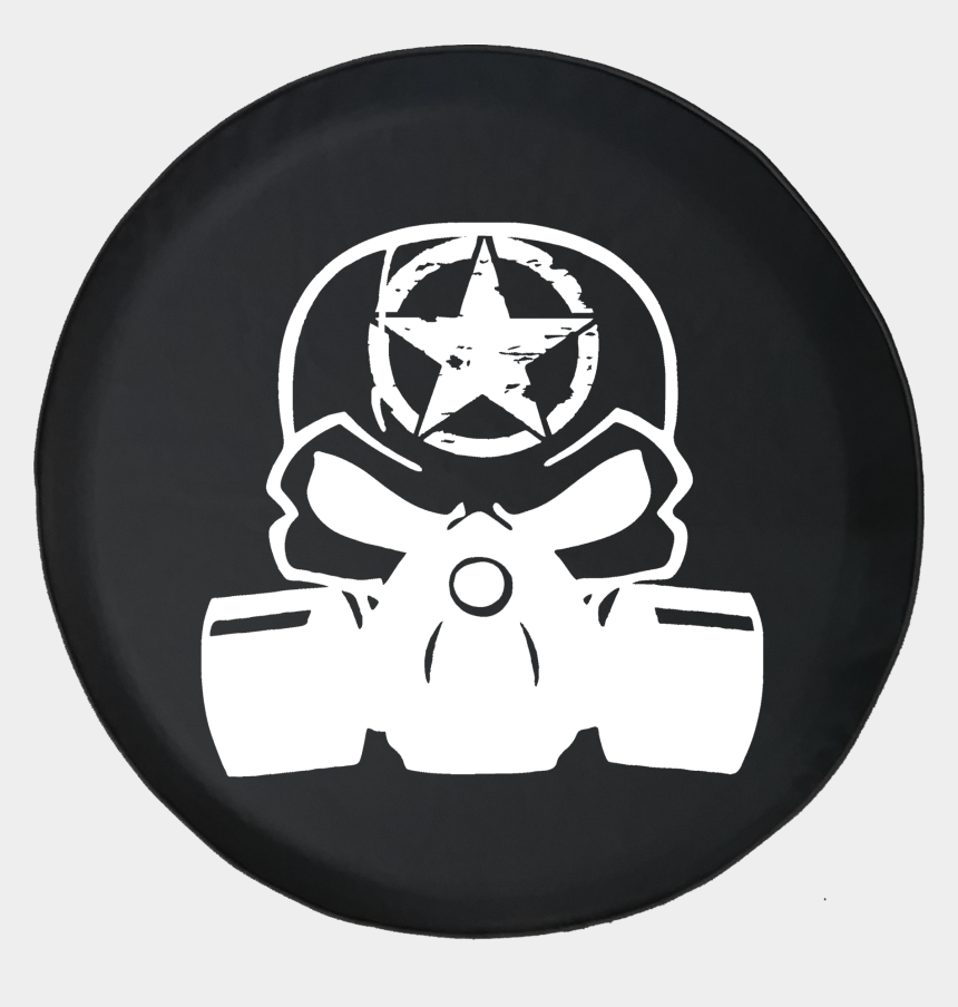 punisher skull clipart, Cartoons - Jeep Liberty Tire Cover With Punisher Skull Gas Mask - Nissan Off Road Stickers