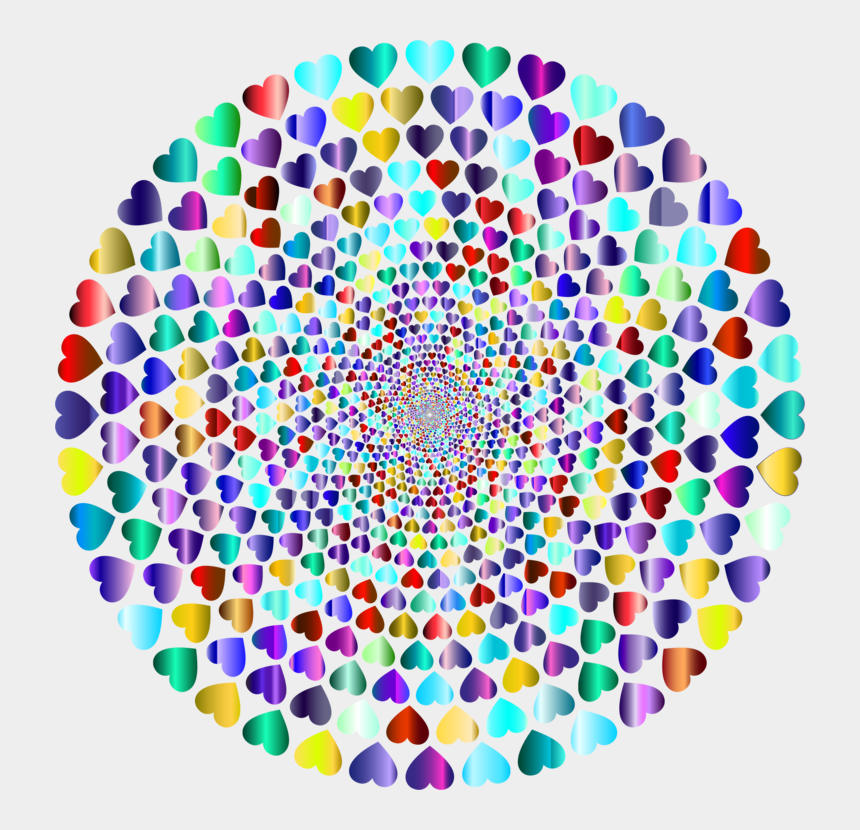 rainbow heart clipart, Cartoons - Computer Icons Circle Drawing Free Commercial Clipart - Gambar Cinta Warna Warni