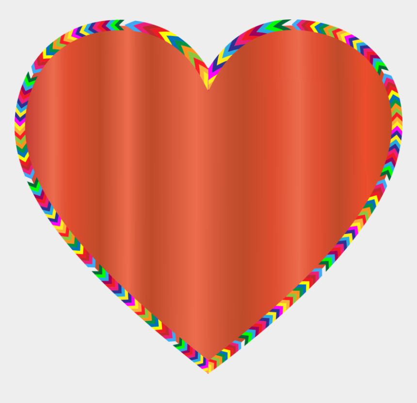 rainbow border clipart, Cartoons - Borders And Frames Rainbow Computer Icons Color Heart - Heart In Different Colours