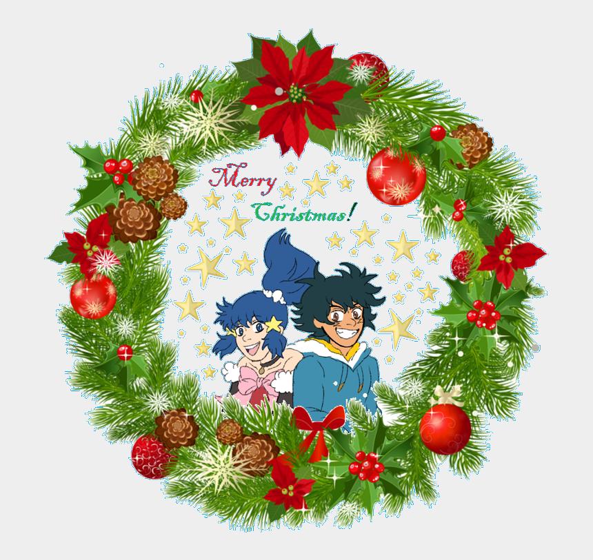 """christmas secret santa clipart, Cartoons - """"merry Xmas To @mespirited I Am Your Secret Santa For - Christmas Wreath Photo Frame"""