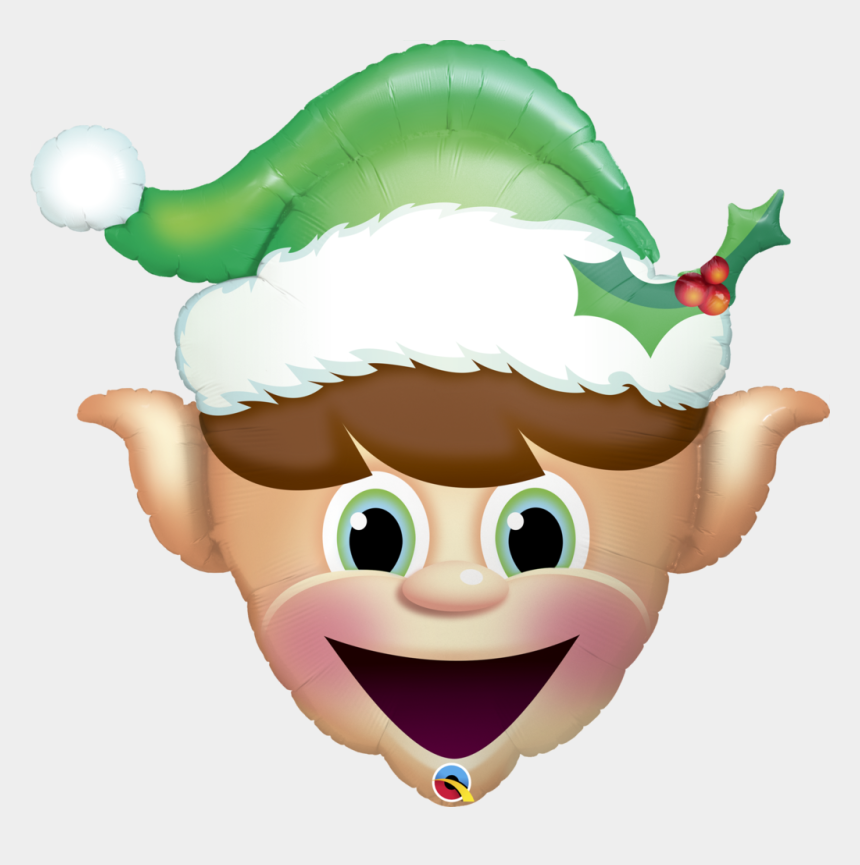 elf face clipart, Cartoons - 1024 X 983 2 - Elf Balloons