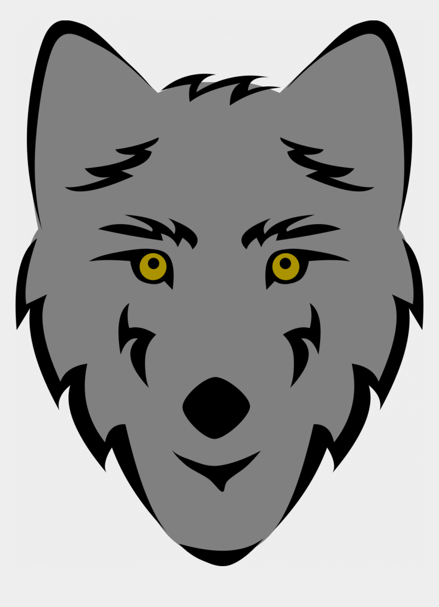 Easy wolf. Anime png face drawing