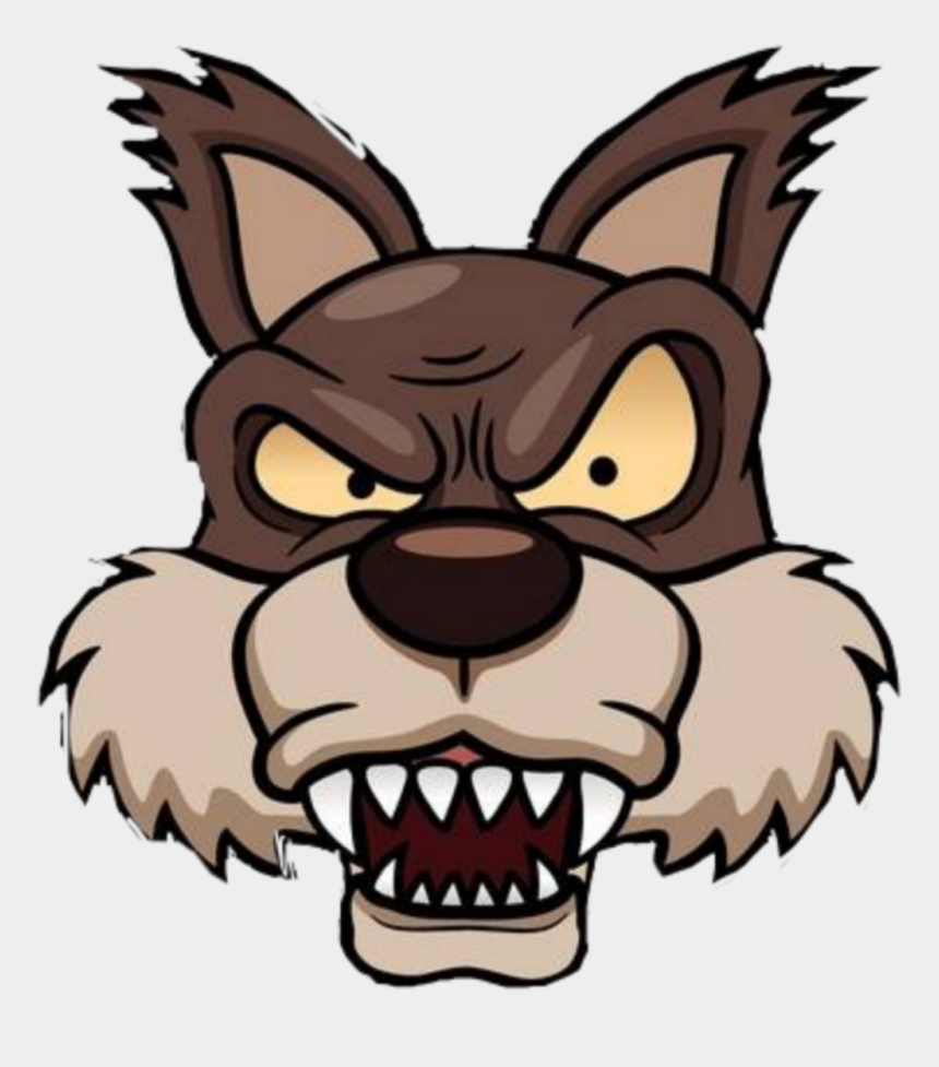 wolfpack clipart, Cartoons - #lobo #lobao #wolf #wolfpack - Big Bad Wolf Face