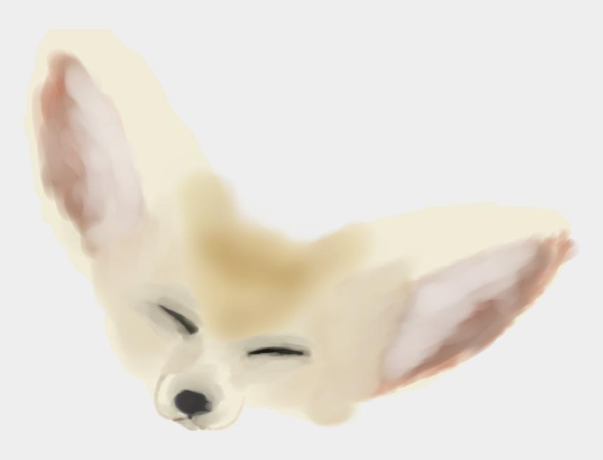 fennec fox clipart, Cartoons - Fur Snout Fennec Fox - Arctic Fox