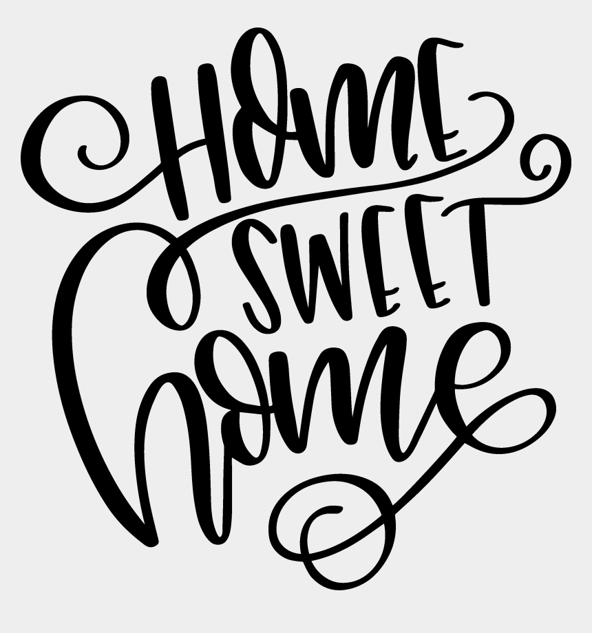 sweet home clipart, Cartoons - Home Sweet Home - Transparent Home Sweet Home Png