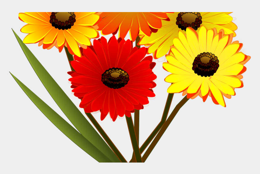 colorful flowers clipart, Cartoons - Yellow Flower Clipart Colorful Flower - Flower Clip Art