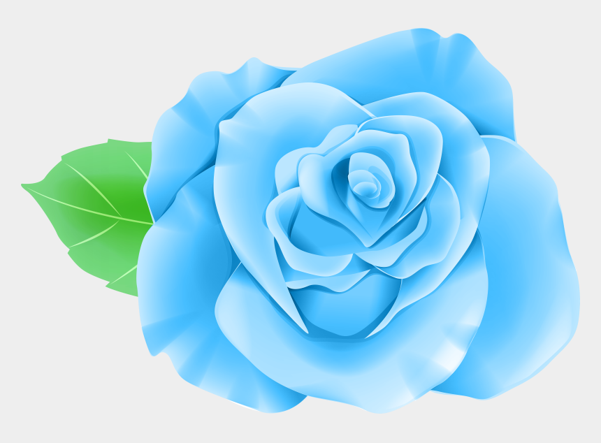 blue rose clipart, Cartoons - Blue Rose Png Clip Art Image Gallery Ⓒ - Blue Single Rose Flower