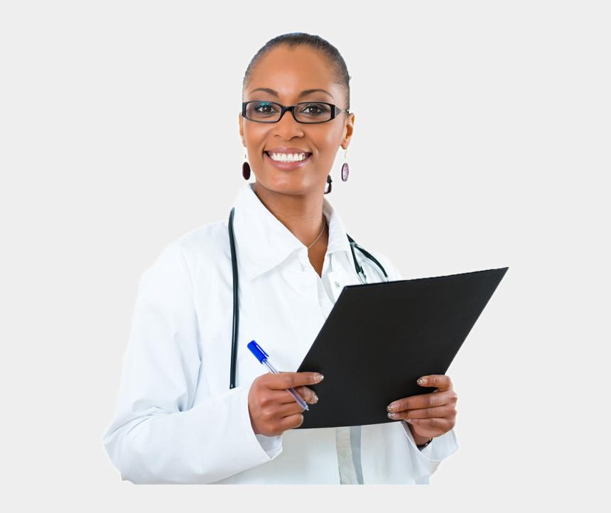 black doctor clipart, Cartoons - Black Doctor Png - Black Medical Doctor Png
