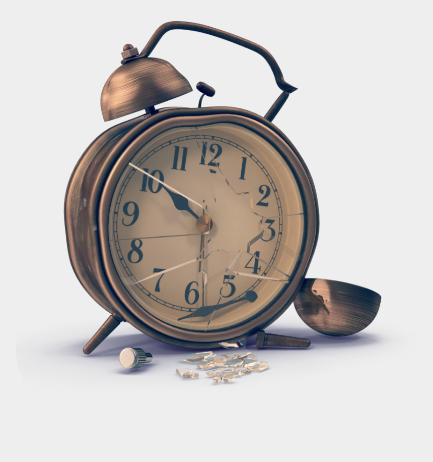 broken clock clipart, Cartoons - #clock #time #broken #vintage #clocks - Antique Broken Clock Png