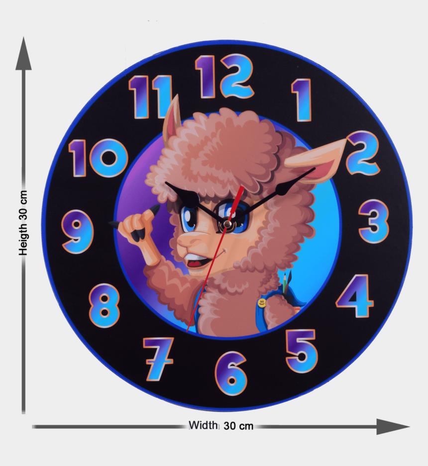 clock clipart for kids, Cartoons - Dream Believe Achieve 30cm Wall Clock - Circle