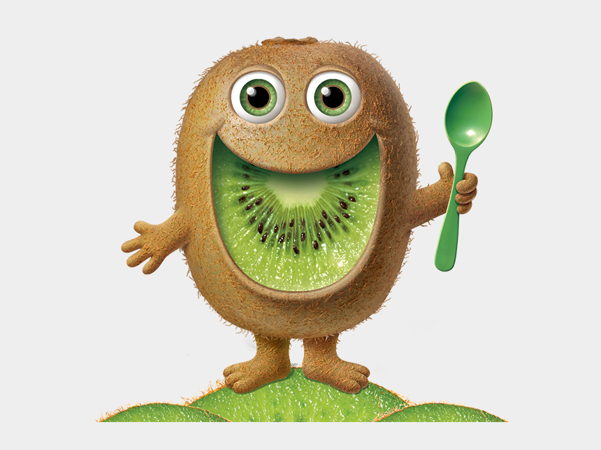 cute fruit clipart, Cartoons - Kiwi Cute Fruit Bemightie - Mighties Kiwi