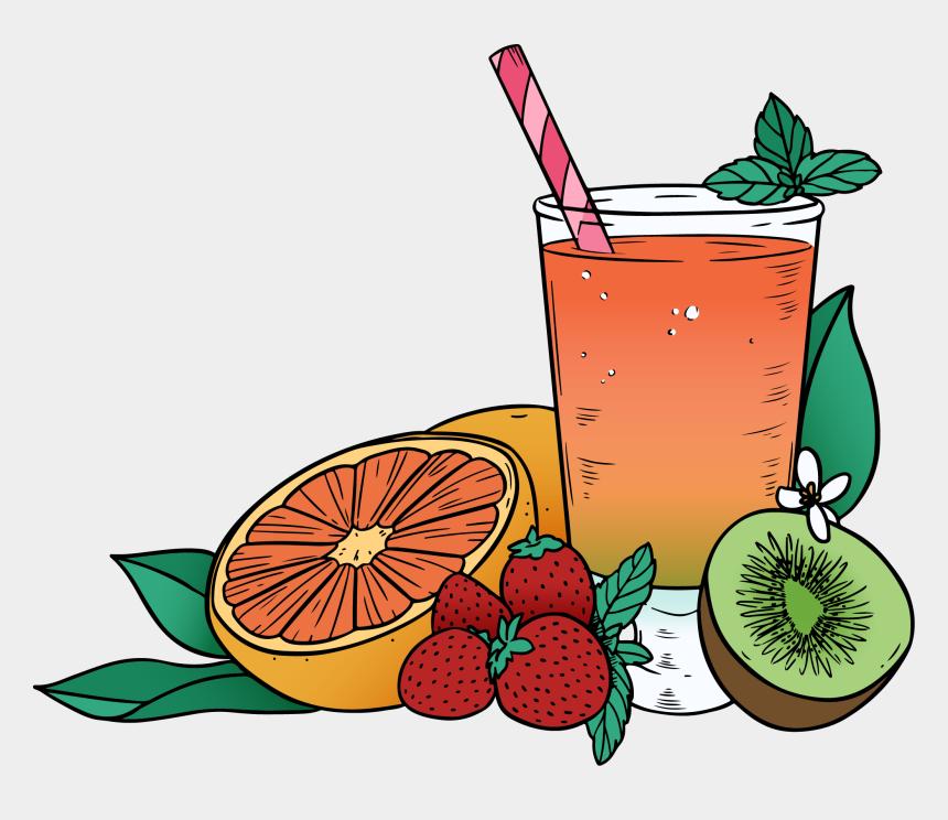 fruit juice clipart, Cartoons - Juice Clipart Mixed Fruit - Juice
