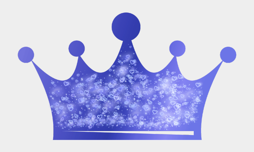 blue crown clipart, Cartoons - #blue #crown #hearts #heartcrown #cute #freetoedit - Glittery Pink Crown Png