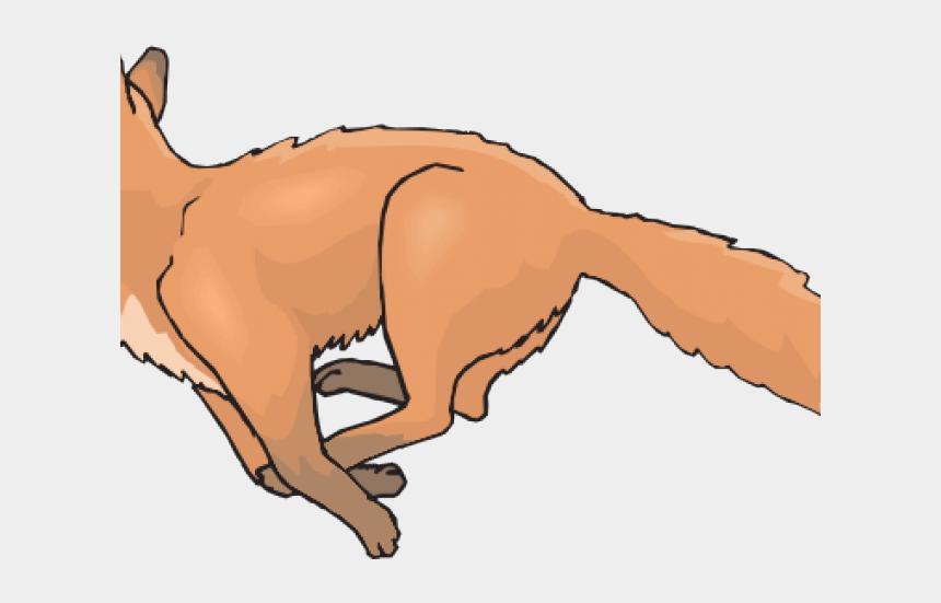 cat jumping clipart, Cartoons - Tail Clipart Running Fox - Cartoon