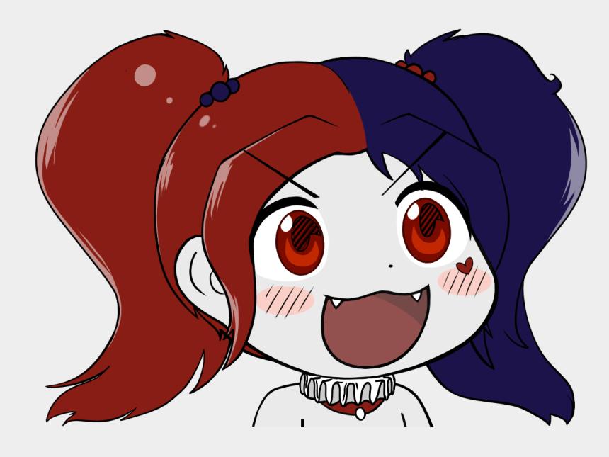 cute digital clipart, Cartoons - Harley Quinn Clipart Digital - Harley Quinn Cute Chibi
