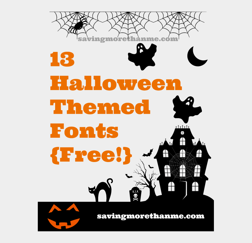 free halloween candy clipart, Cartoons - 13 Free Halloween Fonts {and A Candy Rant } Winterandsparrow - Thirty One Cinch Sac Personalization Ideas