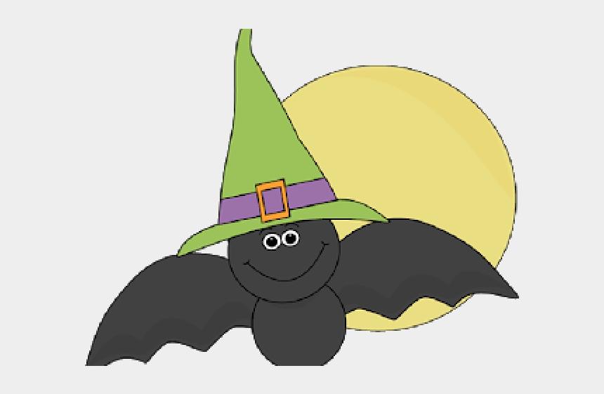 halloween moon clipart, Cartoons - Cute Halloween Bat Clipart